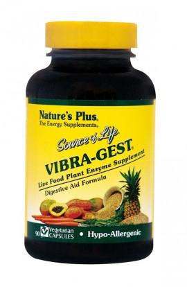 NATURES PLUS Source Of Life Vibra-Gest 90 Vegeterian Caps