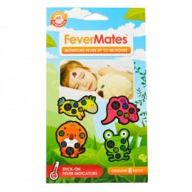 Mediband FeverMates Παιδικό Αυτοκόλλητο Θερμόμετρο 8Τμχ