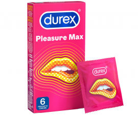 DUREX PLEASUREMAX 6 ΤΕΜΑΧΙΑ