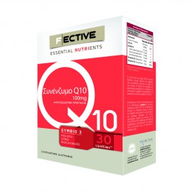 Fective Essential Nutrients Coenzyme Q10 100mg 30 Lipicaps