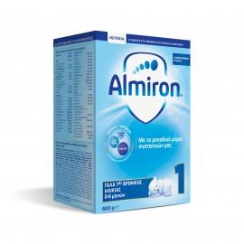 Nutricia Almiron 1 Γάλα 1ης Βρεφικής Ηλικίας από 0-6 μηνών 600gr
