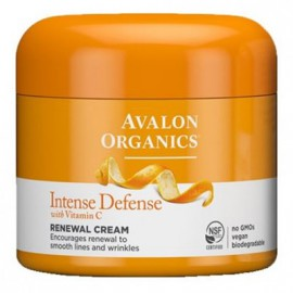 Avalon Organics Intense Defence With Vitamin C Renewal Cream 57gr