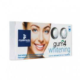 My Elements Gum 4 Whitening Συμπλήρωμα Διατροφής σε μορφή τσίχλας 10τμχ.