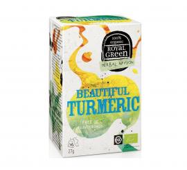 Am Health Royal Green Herbal Infusion Beautiful Turmeric 16 φακελάκια