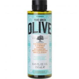 KORRES Pure Greek Olive Σαμπουάν Λάμψης και Ελαστκότητας με Εκχύλισμα Φύλλων Ελιάς 250ml