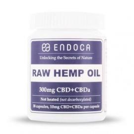 Endoca Raw Hemp oil Capsules 3% CBD 30pieces