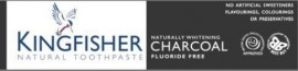 Kingfisher Naturally Whitening Charcoal Fluoride Free Toothpaste 100ml
