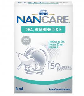 Nestle NanCare DHA Vit D&E drops 8ml