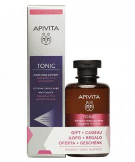 Apivita Hair Loss Lotion Hippophae TC & Πρωτείνες Λούπινου 150ml + Δώρο Apivita Τονωτικό Σαμπουάν Κατά της Τριχόπτωσης για Γυναίκες Hippophae TC & Δάφνη 250ml
