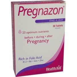 HEALTH AID PREGNAZON™ TABLETS 30S