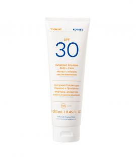 Korres Yoghurt Sunscreen Emulsion Face & Body Spf30 for Sensitive Skin 250ml