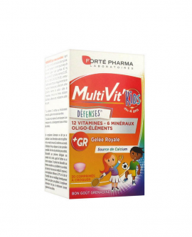 Forte Pharma MultiVit Kids 30 δισκία