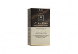 Apivita My Color Elixir kit Μόνιμη Βαφή Μαλλιών 5.35 ΚΑΣΤΑΝΟ ΑΝΟΙΧΤΟ ΜΕΛΙ ΜΑΟΝΙ