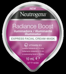 Neutrogena Radiance Boost The illuminator Μάσκα Προσώπου Express σε Μορφή Κρέμας 10ml