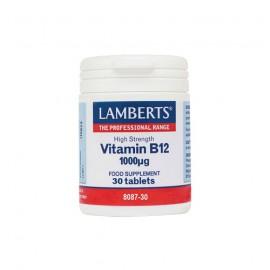 Lamberts Vitamin B12 1000mg 30tabs