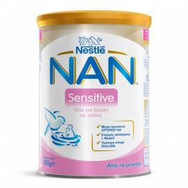 Nestle Nan Sensitive Γάλα για Βρέφη σε Σκόνη από τη Γέννηση 400gr