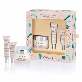 Caudalie Resveratrol Lift Firming Set - Resveratrol [Lift] Face Lifting Soft Cream 50ml + Resveratrol [Lift] Firming Serum 10ml +  Resveratrol [Lift] Eye Lifting Balm 5ml