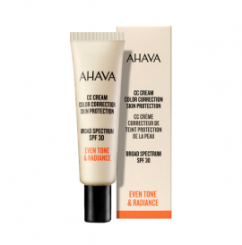 Ahava CC Cream Color Correction Skin Protection Broad Spectrum SPF30 30ml