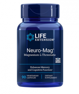Life Extension Neuro-Mag Magnesium L-Threonate 90caps