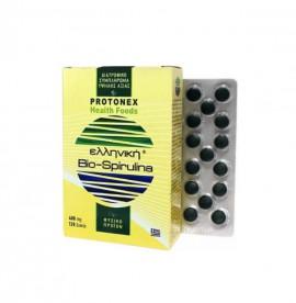 Protonex Ελληνική Bio-Spirulina 400mg δεν Περιέχει Ιώδιο 120 δισκία