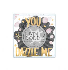 Invisibobble Sprunchie Sparkling Dark Silver 1τμχ