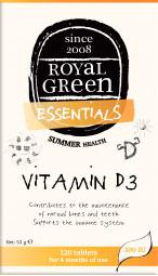 AM HEALTH ROYAL GREEN VITAMIN D3 300IU 120TABS