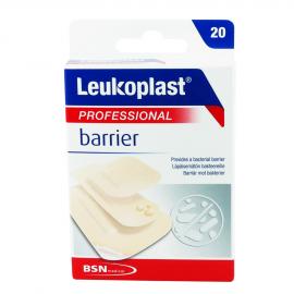 Leukoplast Professional Barrier 3 μεγέθη (38mm X 38mm) + (22mm X 72mm) + (38mm X 63mm)