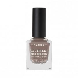 Korres Βερνίκι Νυχιών Gel Effect Nail Colour No95 Stone Grey 11ml