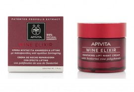 Apivita Wine Elixir Renewing Lift Night Cream Κρέμα Νύχτας για Ανανέωση & Lifting 50ml