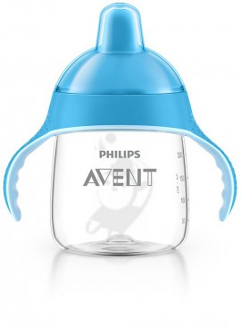 AVENT Κύπελλο με λαβές 260ml (μπλε) 12M+ SCF753/05