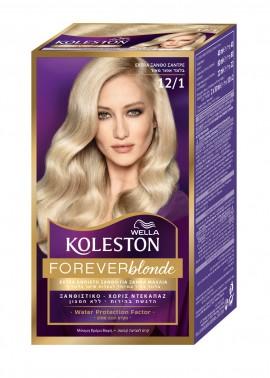 Wella Koleston Extra Ash Blonde Βαφή Μαλλιών Νο 12/1 Ξανθό Σαντρέ, 50ml