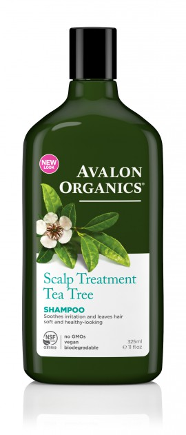 Avalon Organics Scalp Treatment Tea Tree Shampoo 325ml