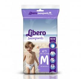 Libero Πάνες Swimpants Medium (10-16kg) 6τμx