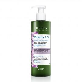 Vichy Dercos Nutrients Vitamin A.C.E. Shine Shampoo for Dull & Tired Hair 250ml