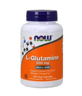 Now Foods L-Glutamine 500mg 120vcaps