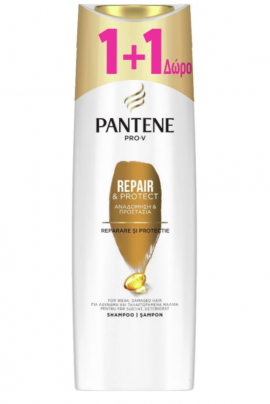 Pantene Pro-V Repair & Protect Shampoo 360ml 1+1 Δώρο