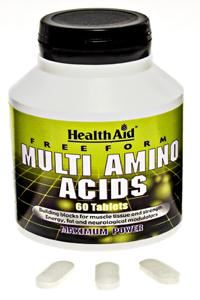 HEALTH AID MULTI AMINO ACIDS 60s