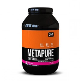 QNT Metapure Zero Carb Whey Isolate Protein Powder Red Candy 1kg