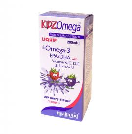 HEALTH AID KIDZ OMEGA -LIQUID -WILDBERRY 200ML