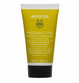 Apivita Απαλή Κρέμα Μαλλιών Καθημερινής Χρήσης Χαμομήλι & Μέλι 50ml