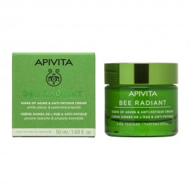 Apivita Bee Radiant Peony & Patented Propolis Rich Texture 50ml