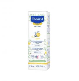 Mustela Bebe Creme Nourrissante au Cold Cream 40ml