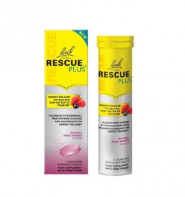 POWER HEALTH BACH RESCUE PLUS EFFERVESCENT 15tabs