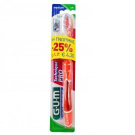 GUM 528 Technique pro medium toothbrush ειδική τιμή