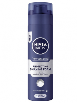 NIVEA MEN Αφρός Ξυρίσματος Protect & Care 200 ml