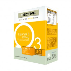 Fective Essential Nutrients Ωμέγα 3 1000mg 30 LipidCaps