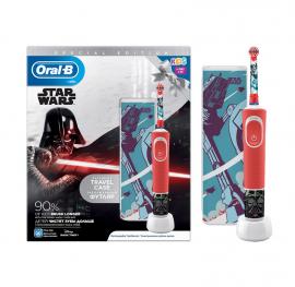 Oral-B Παιδική Επαναφορτιζόμενη Ηλεκτρική Οδοντόβουρτσα Special Edition Star Wars Kids 3+ & Θήκη Ταξιδίου 1τμχ