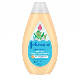 Johnsons Pure Protect Kids Bath 500ml