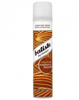 Batiste Medium & Brunette Dry Shampoo Ξηρό Σαμπουάν με χρώμα για καστανά μαλλιά, 200ml