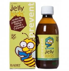 Eladiet Jelly Kids Prevent Συμπλήρωμα Διατροφής με Βασιλικό Πολτό,Πρόπολη και 5 Βιταμίνες Χωρίς Γλουτένη 150ml